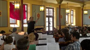 Paul Mann Rehearsing Music for My Love