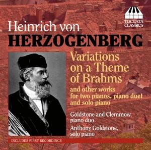 Heinrich von Herzogenberg: Piano Music