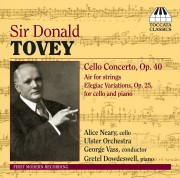 Sir Donald Tovey: Cello Concerto