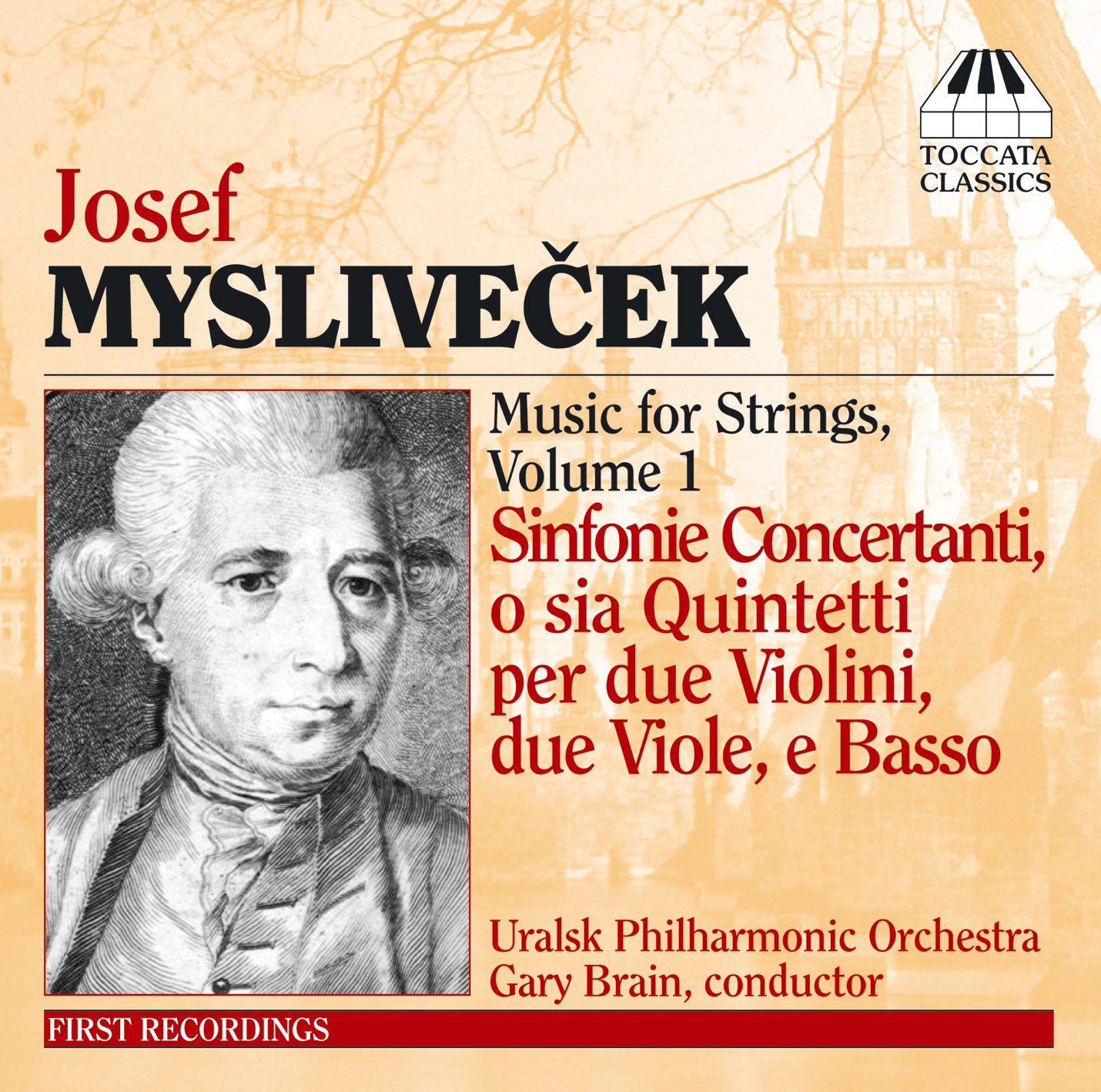 Josef Mysliveček: Music for Strings