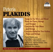 Pēteris Plakidis: Music for String Orchestra