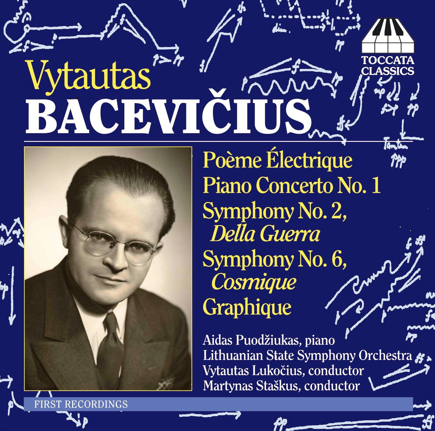 Vytautas Bacevičius: Orchestral Music
