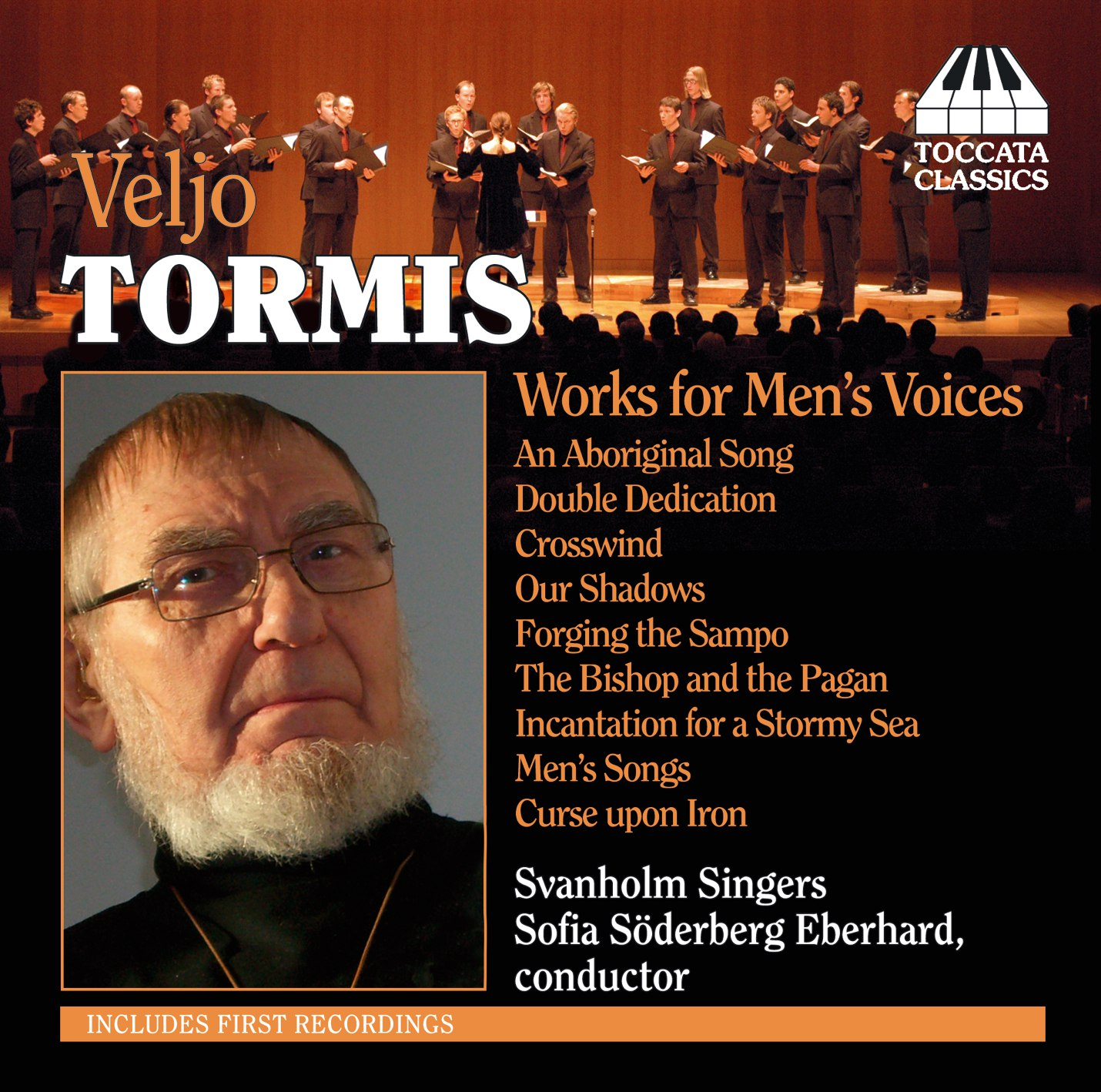 Veljo Tormis: Works for Men's Voices