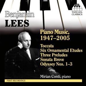 Benjamin Lees: Piano Music