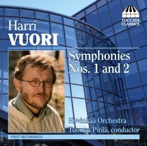 Harri Vuori: Symphonies Nos. 1 and 2