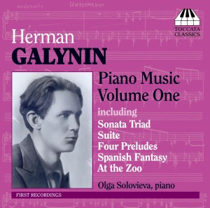 Herman Galynin: Piano Music