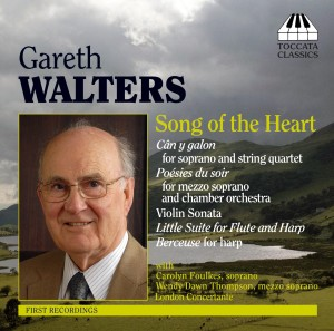 Gareth Walters: Song-Cycles and Chamber Music