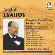 Anatoly Lyadov: Complete Piano Music