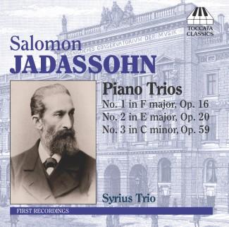Salomon Jadassohn: Piano Trios Nos. 1-3