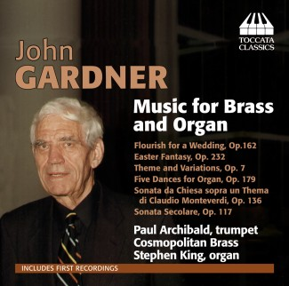 John Gardner: Music for Brass and Organ