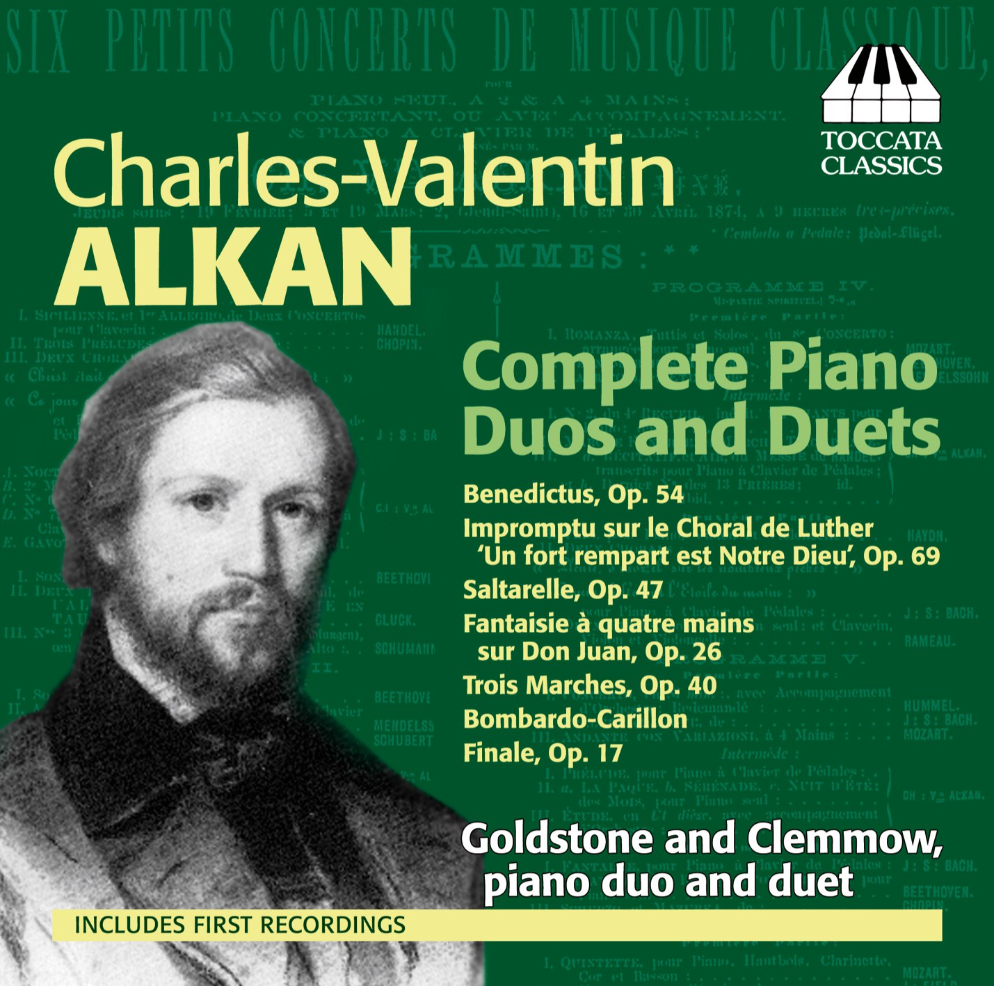 Schön Charles Valentin Alkan: Complete Piano Duos And Duets | Recordings |  Toccata Classics | Toccata Press