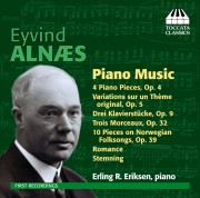 Eyvind Alnæs: Piano Music
