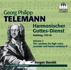 Georg Philipp Telemann: Harmonischer Gottes-Dienst