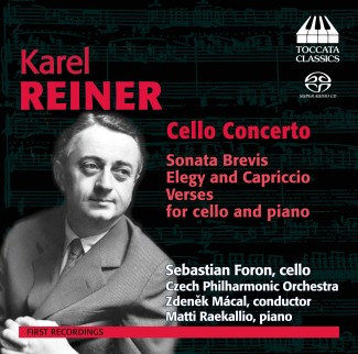 Karel Reiner: Music for Cello
