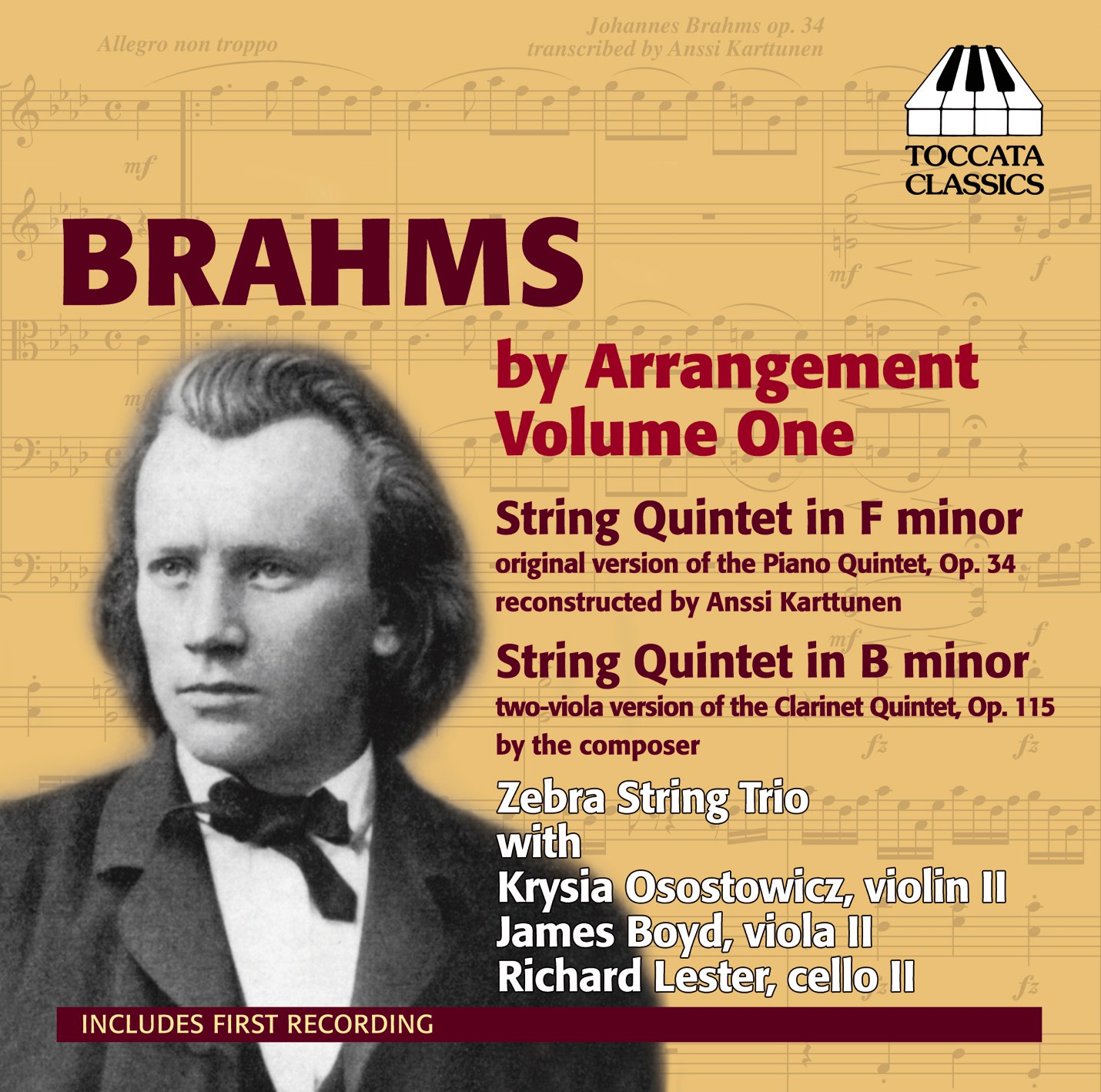 Brahms by Arrangement