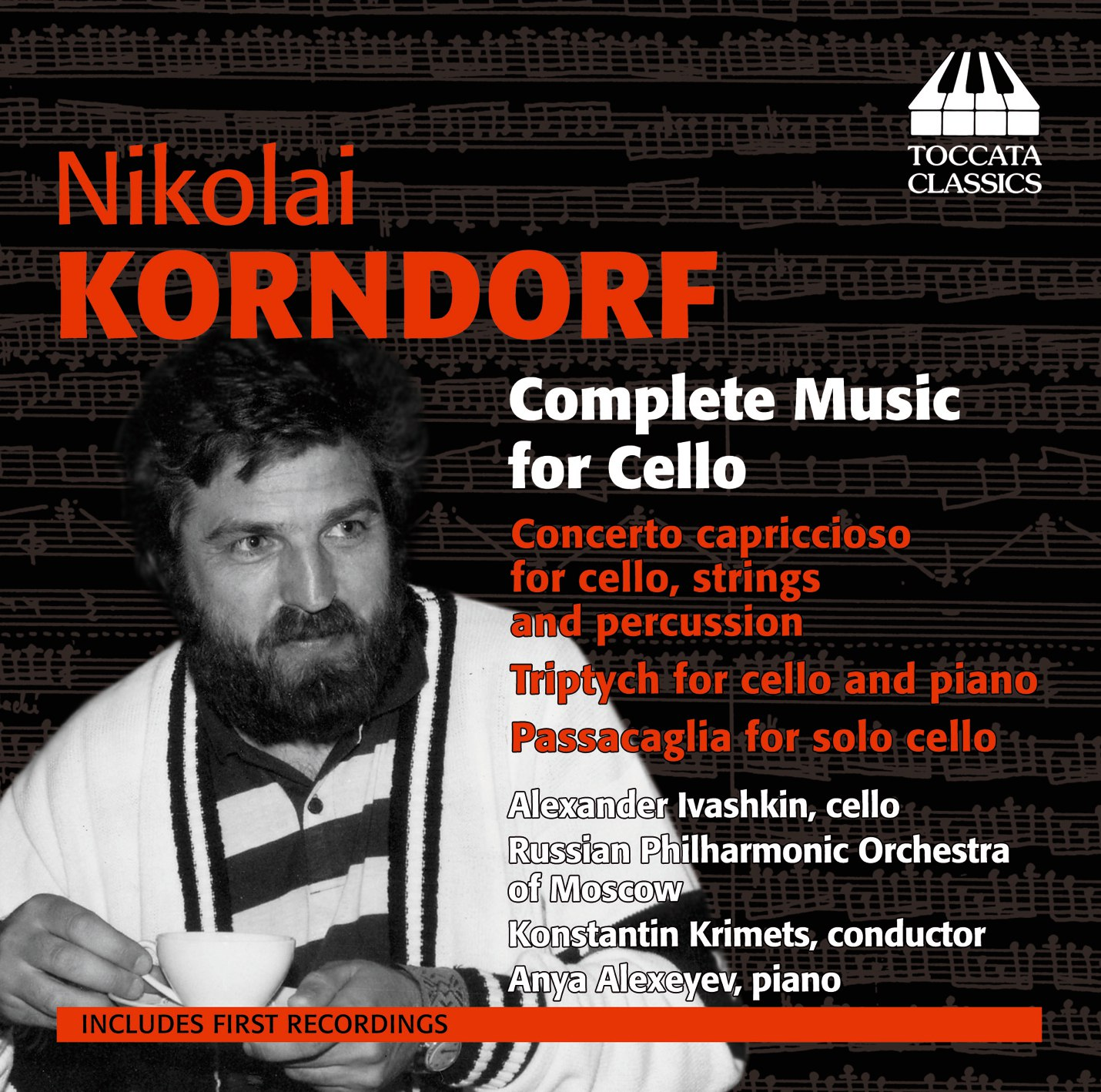 Nikolai Korndorf: Complete Music for Cello