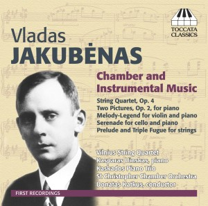 Vladas Jakubėnas: Chamber and Instrumental Music