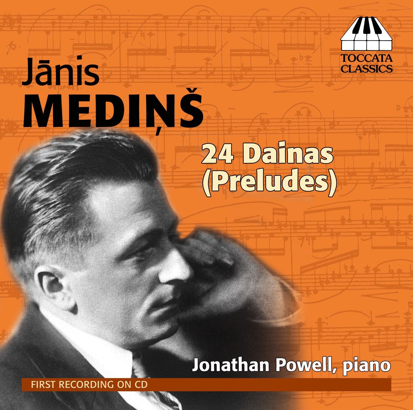 Jānis Mediņš: 24 Dainas (Preludes)