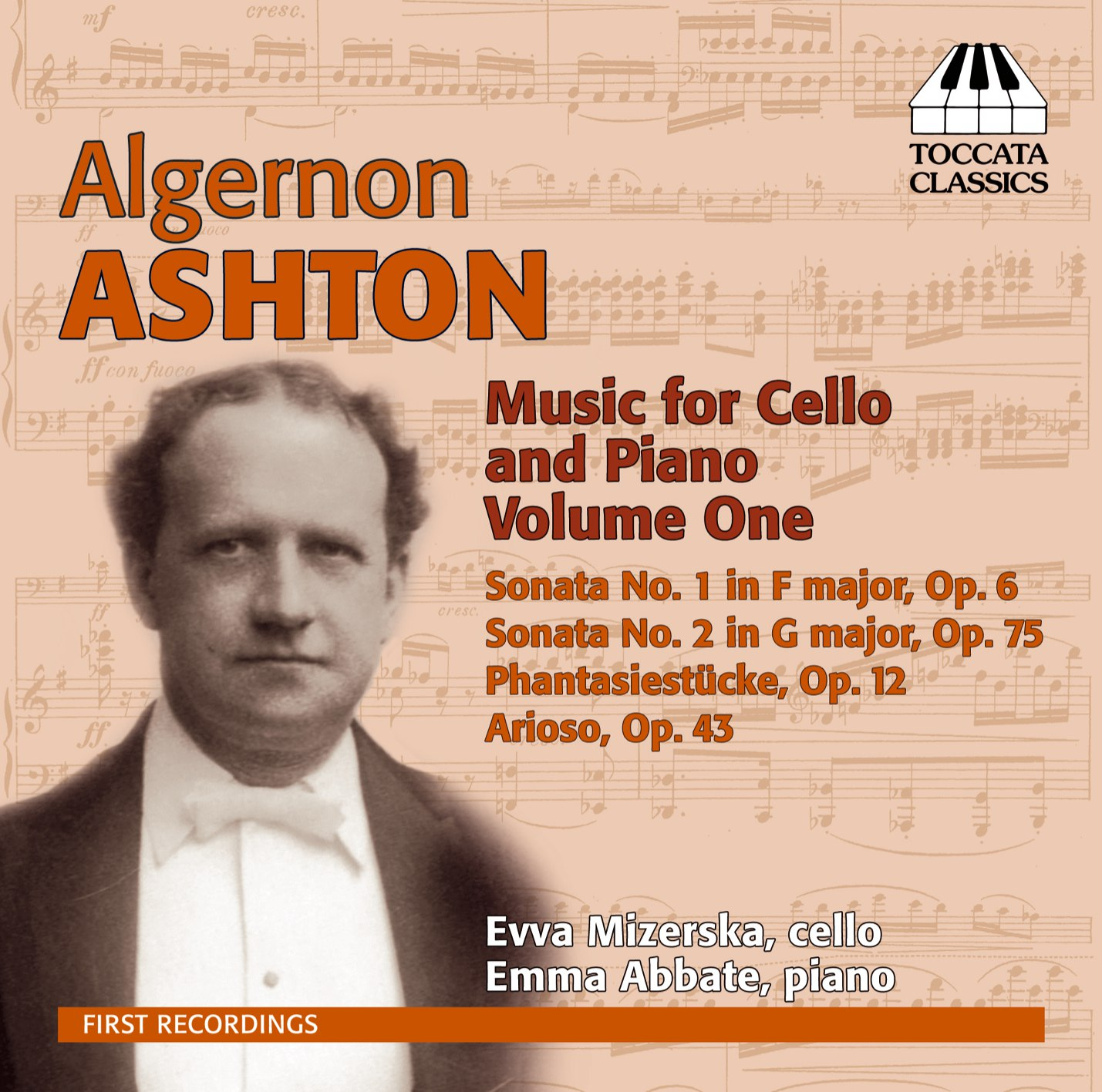 Algernon Ashton: Music for Cello and Piano