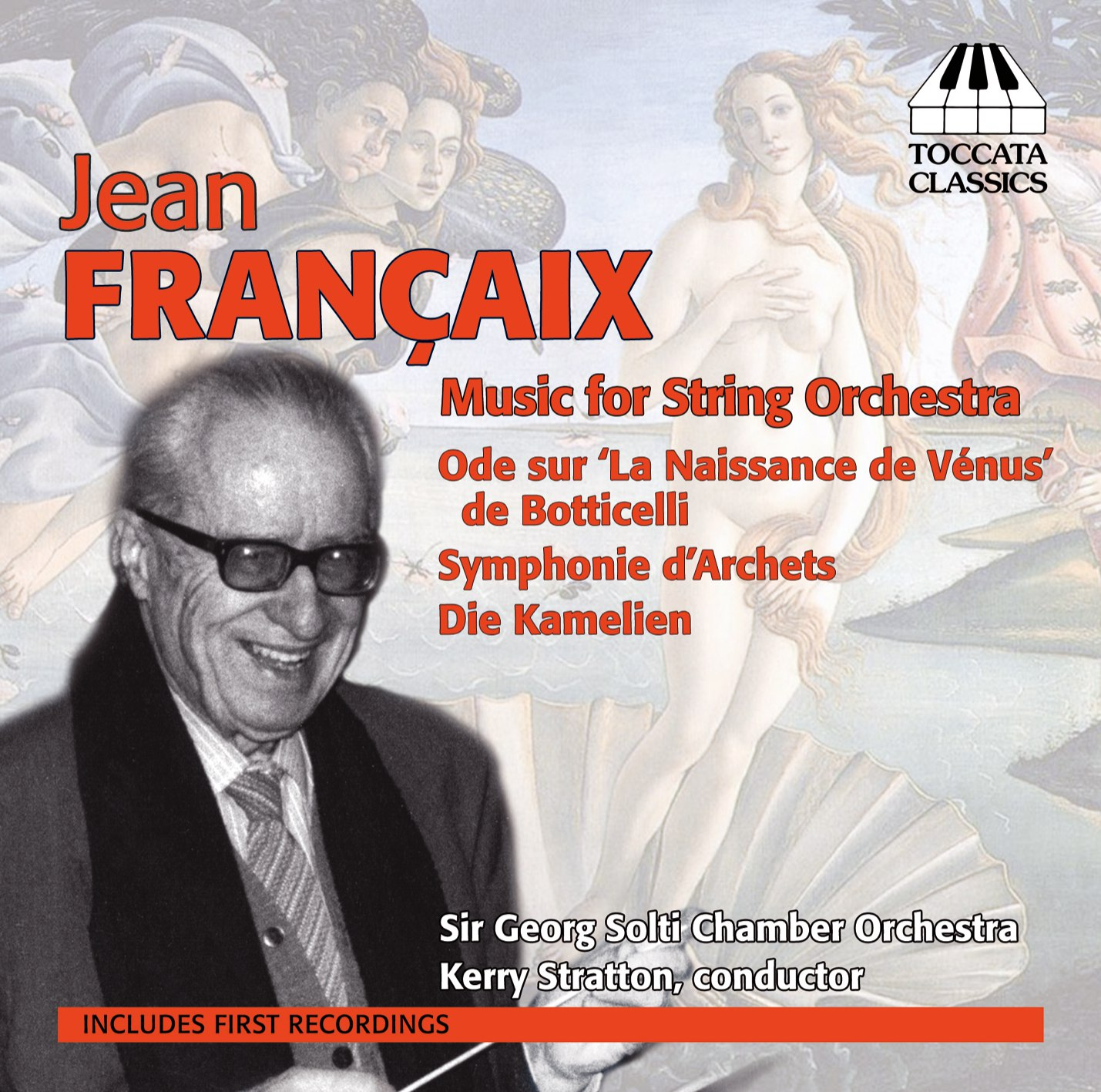 Jean Françaix: Music for String Orchestra