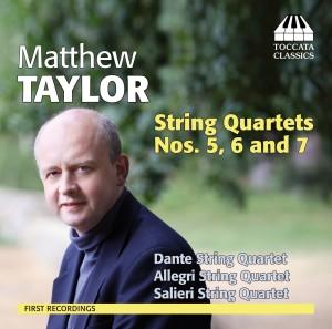 Matthew Taylor: String Quartets Nos. 5
