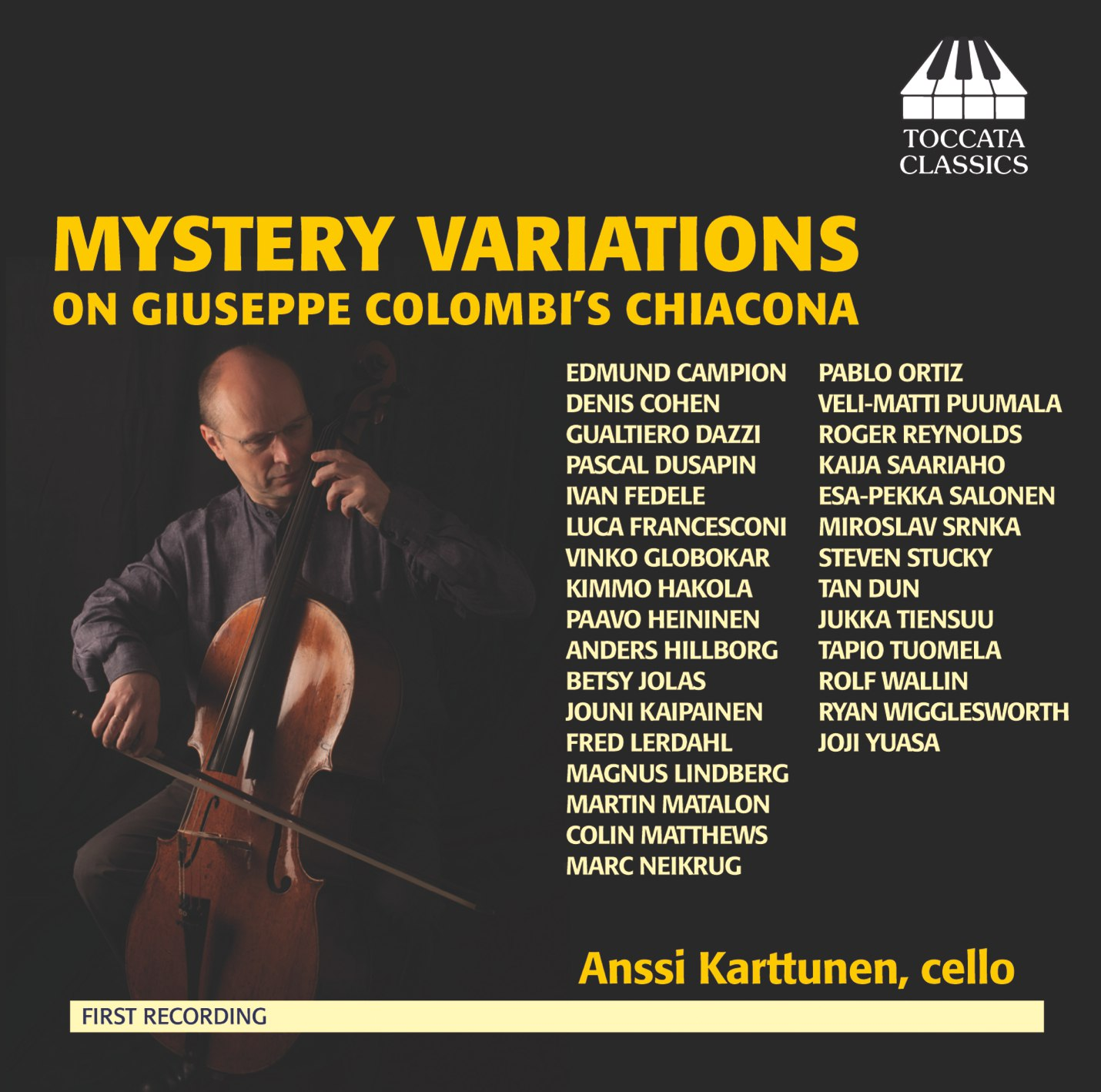 Mystery Variations on Giuseppe Colombi's Chiacona