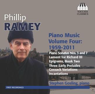 Phillip Ramey: Piano Music