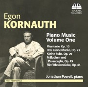 Egon Kornauth: Piano Music