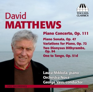 David Matthews: Music for Piano