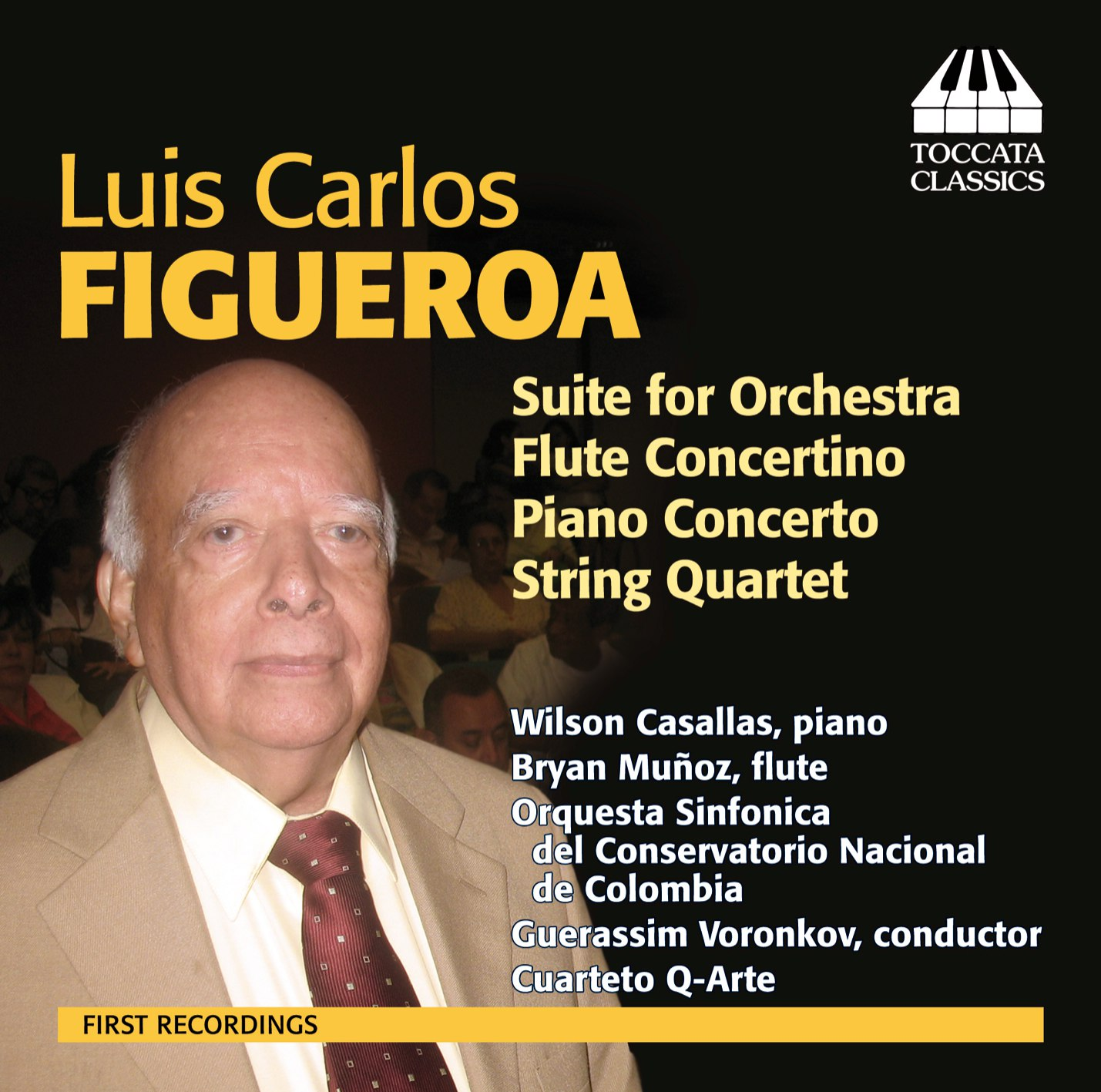 Luis Carlos Figueroa: Orchestral and Chamber Music