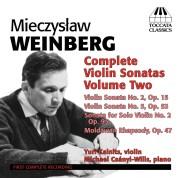 Mieczysław Weinberg: Complete Violin Sonatas