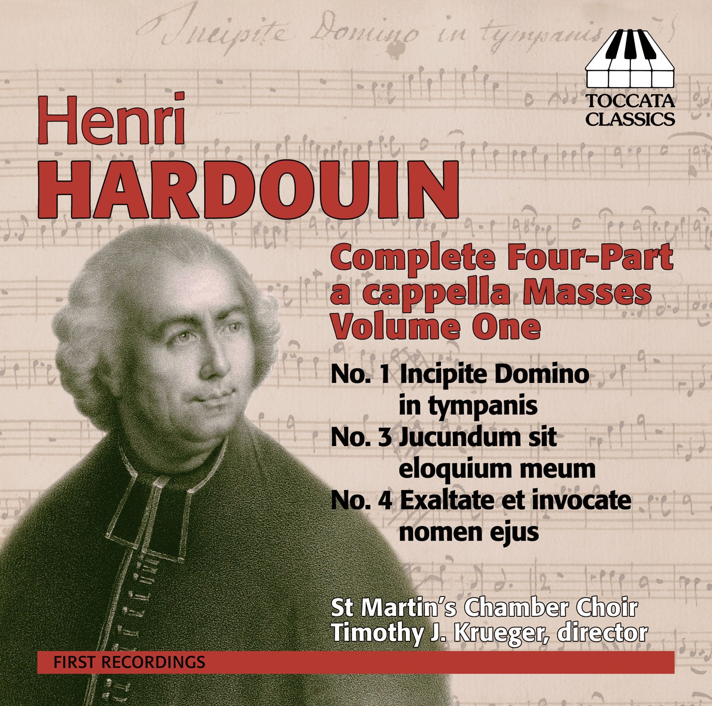 Henri Hardouin: Complete Four-Part <em>a cappella</em> Masses