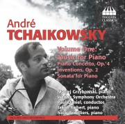 André Tchaikowsky: Music for Piano