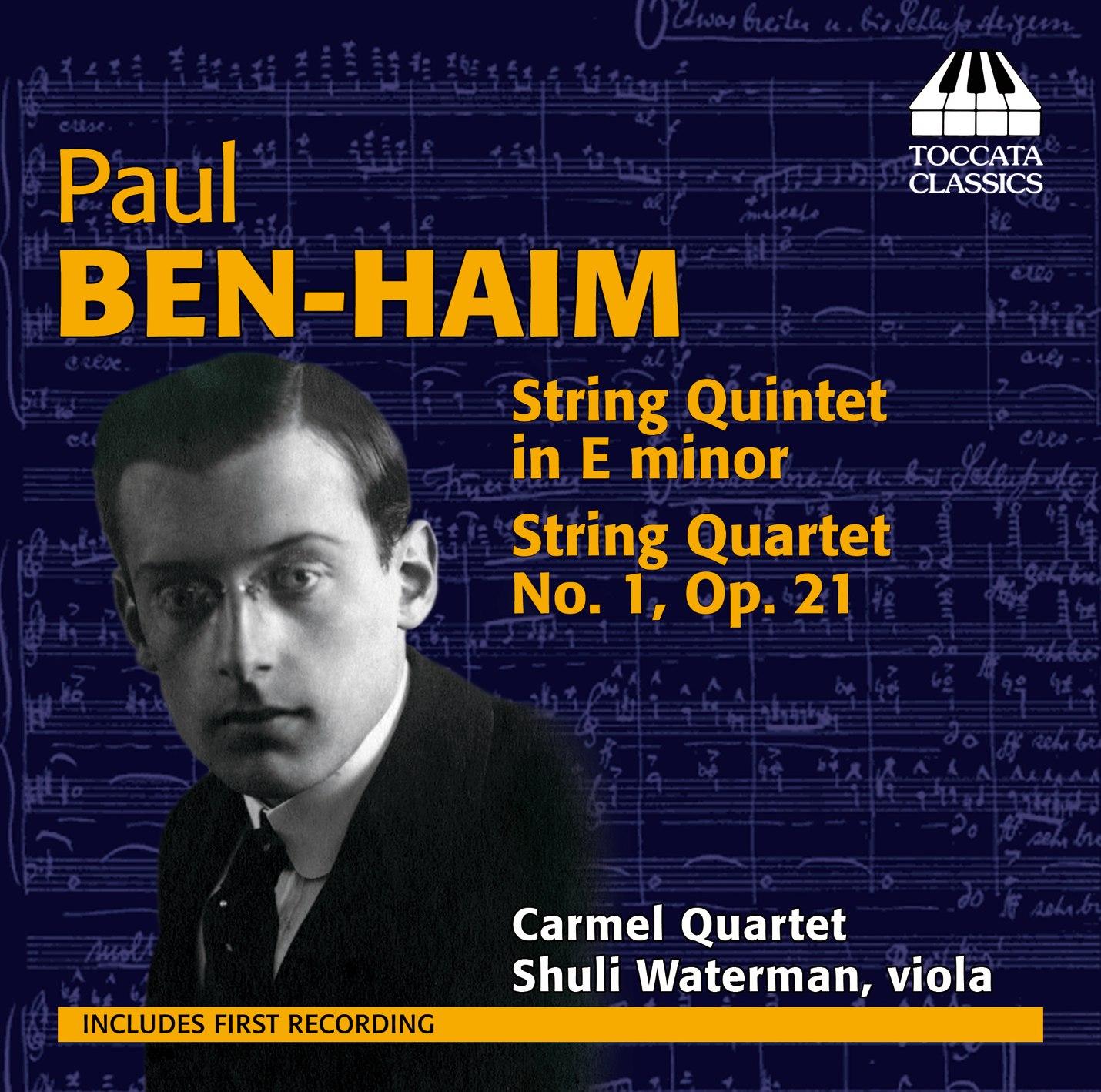 Paul Ben-Haim: Chamber Music