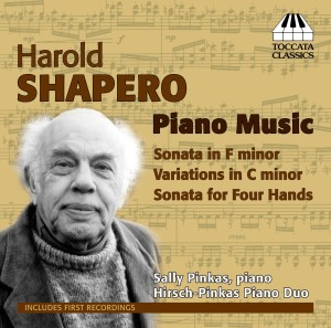 Harold Shapero: Piano Music