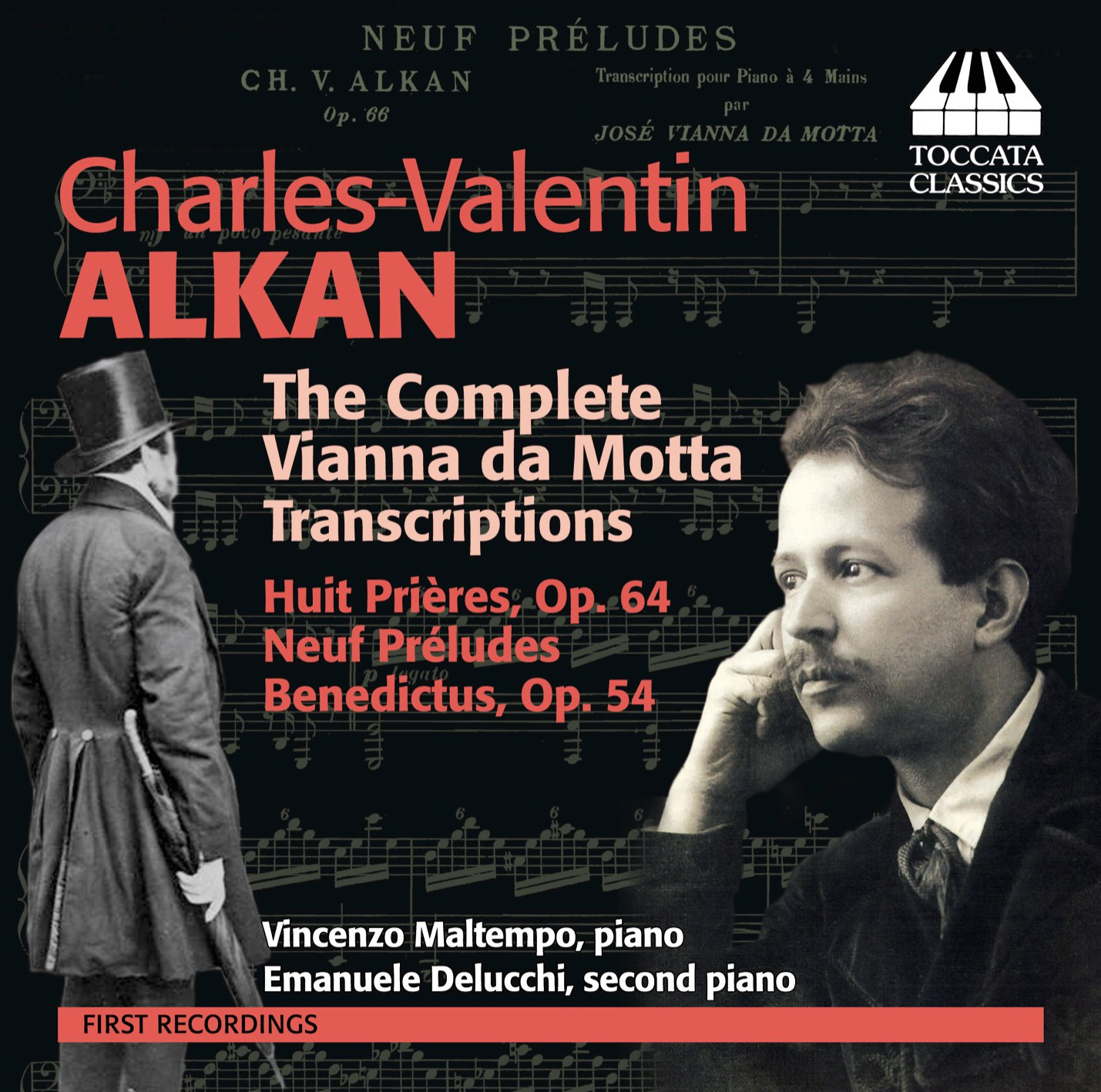 Charles Valentin Alkan: The Complete Vianna Da Motta Transcriptions |  Recordings | Toccata Classics | Toccata Press