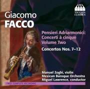 Giacomo Facco: <em>Pensieri Adriarmonici: Concerti à cinque</em>