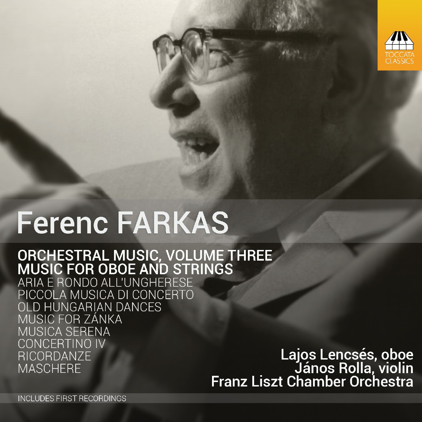 Ferenc Farkas: Orchestral Music