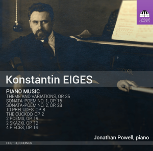 Konstantin Eiges: Piano Music