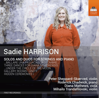Sadie Harrison: Solos and Duos for Strings and Piano