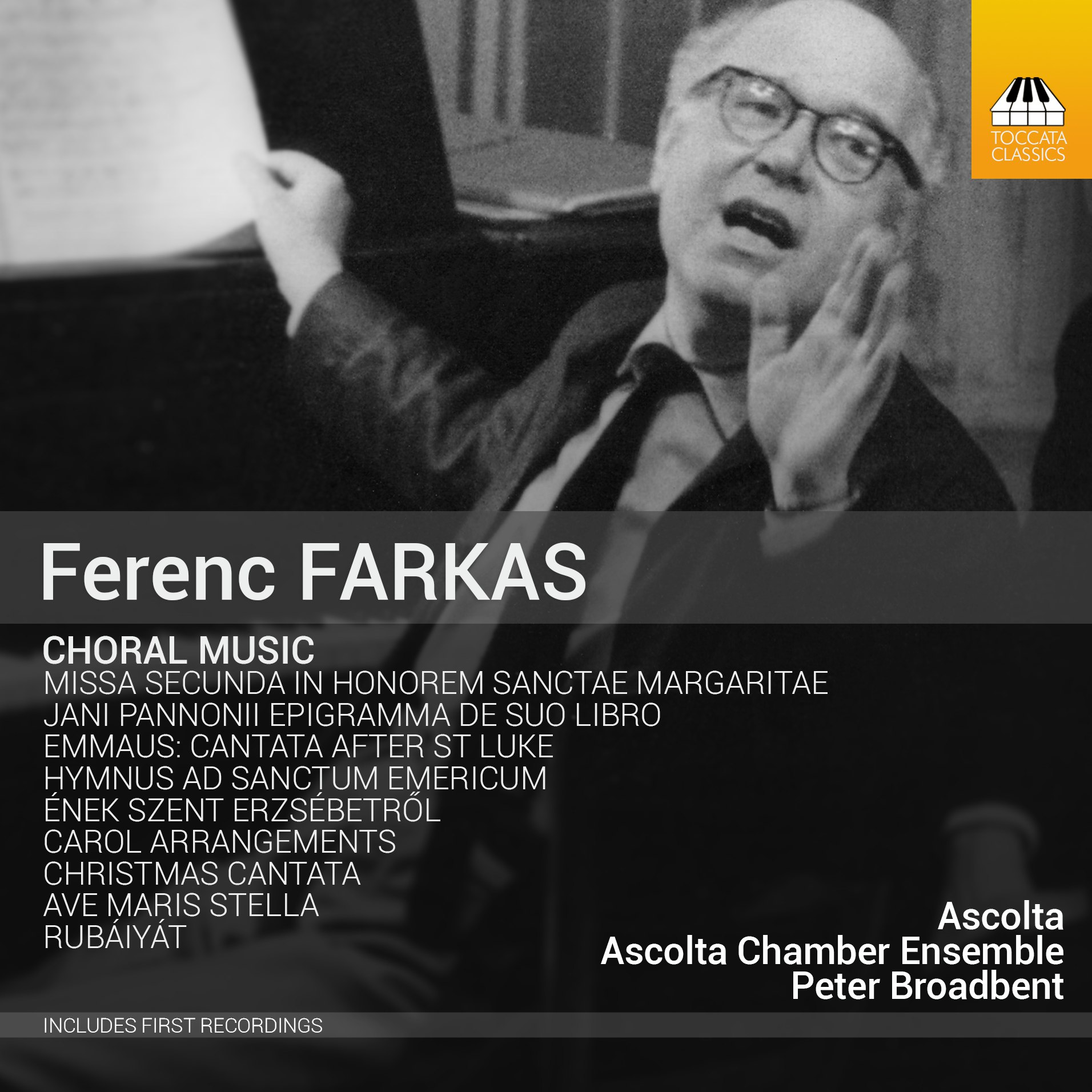 Ferenc Farkas: Choral Music