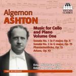 TOCC 0143 Ashton Cello Sonatas Vol. 1