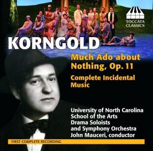 TOCC 0160 Korngold Much Ado