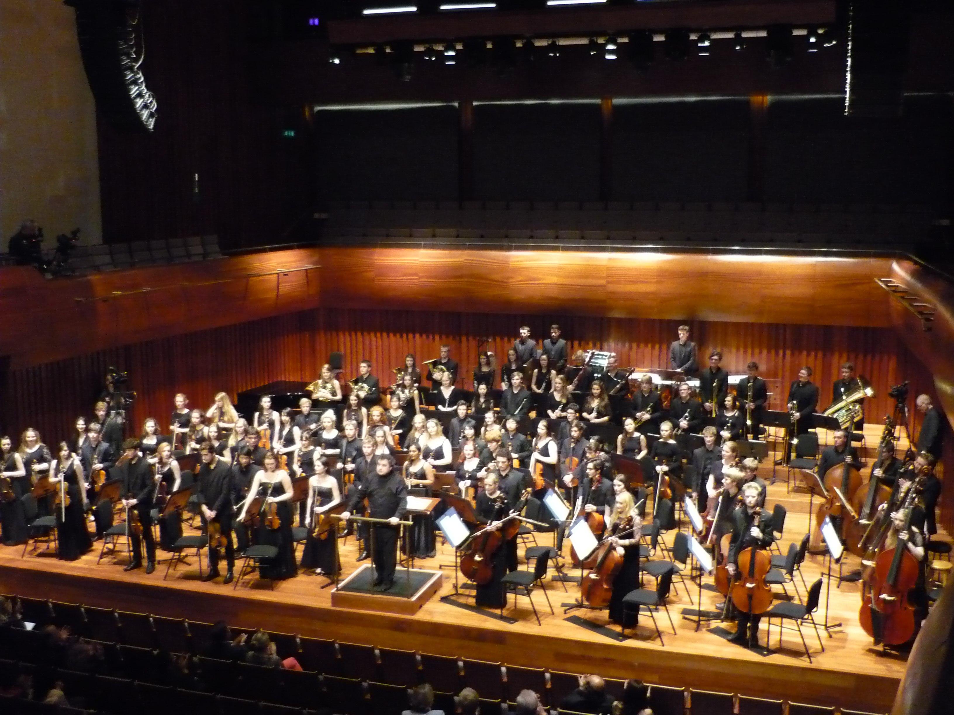Paul Mann Chetham's Symphony Orchestra