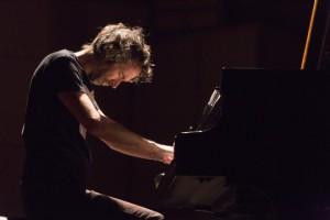 James Rhodes intense playing. Photo courtesy of Eric van Nieuwland