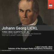 Johan George LICKL: Three Oboe Quartets, Op. 26