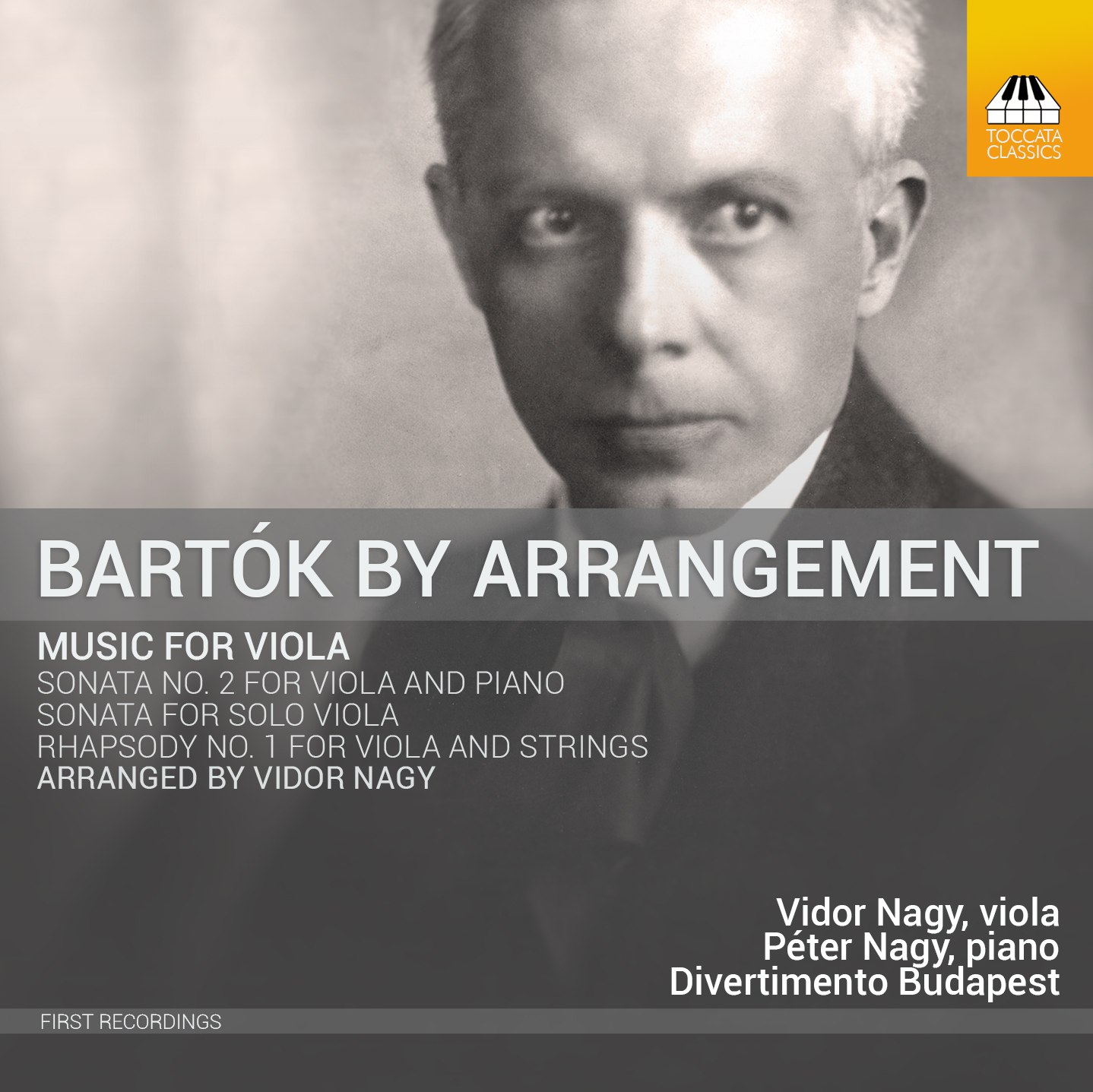 Bartók By Arrangement: Music for Viola