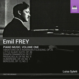 Emil Frey: Piano Music, Volume One