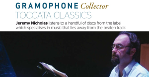 Gramophone Toccata Feature