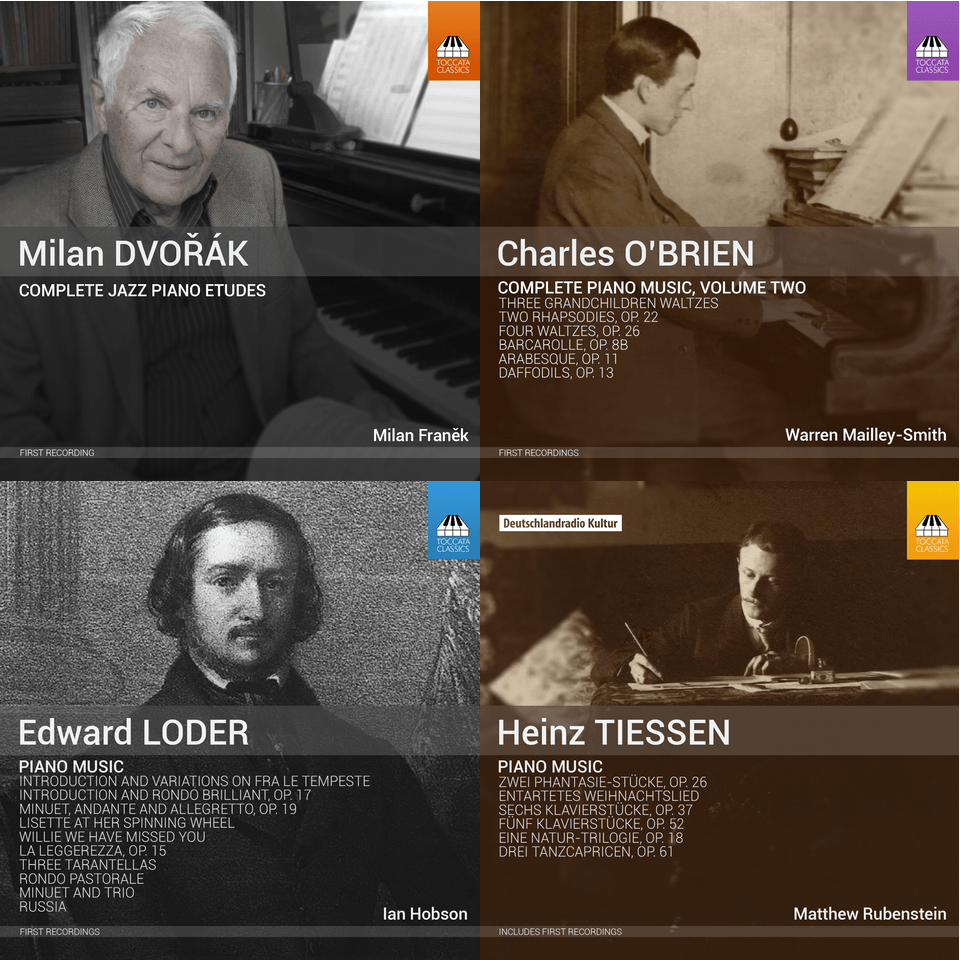 November 2015 Toccata Classics CDs